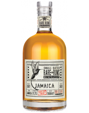 Rum Nation - Small Batch Rare Rums - Jamaica 2007 Peated cask finish