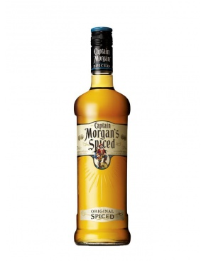 captain morgan spiced rum from virgin islands of the u s