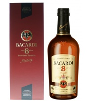 Bacardi - 8 - Ancien packaging
