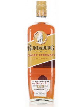 Bundaberg - Underproof  Export Strength 1L