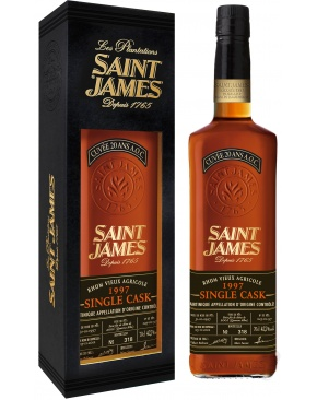 Saint James - Single Cask Millésime 1997