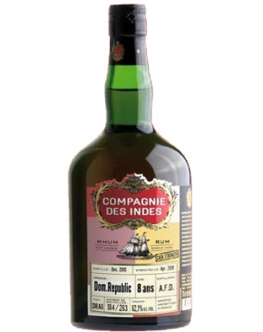 La Compagnie des Indes - Republica Dominicana 8 years old (A.F.D Distillery) Cask Strength