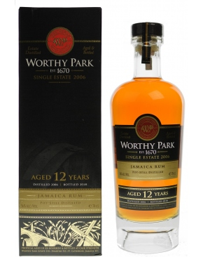 Worthy Park - 12 year old 2006 Single Estate Reserve