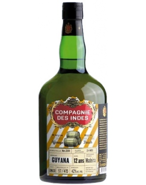 La Compagnie des Indes - Guyana - 12 ans Madeira Finish
